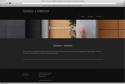 Gunsul + Iverson Website